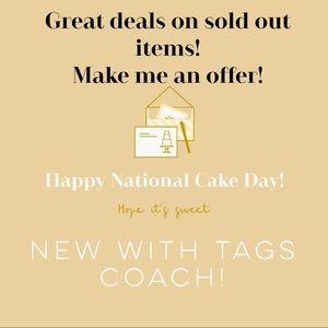 Handbags - So many new Coach items added!